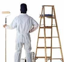 udførsel af malerarbejde
